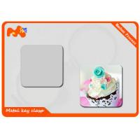 Buy cheap Custom Refrigerator Photo Magnets / Square Promotional Magnets Refrigerator from wholesalers