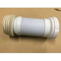 Buy cheap Adjustable Length Toilet Drain Pipe / Organ Tube With Double Layer Structure Tube Wall product