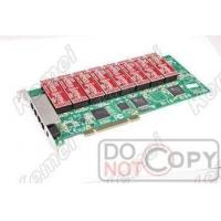 Buy cheap 16channels PCI Telephone Recording Card from wholesalers