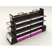 Buy cheap Stainless Steel Cosmetic Display Shelves With Light Box Customized Shape from wholesalers
