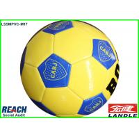 Buy cheap Light Weight Sewing Machine Youth Soccer Balls Meet European Standard EN71 from wholesalers