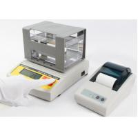 Buy cheap Digital Electronic Portable Gold Tester , Precious Metal Purity Balance , Gold Karat Meter Testing Machine from wholesalers
