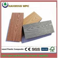 Buy cheap wood grain WPC outdoor hollow decking from Hanming from wholesalers