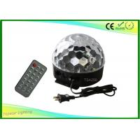 Buy cheap DMX LED Magic Ball Light Sound Activate With Remote Control 6w from wholesalers