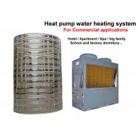Wholesale Big Air Source Heat Pump Water Heater , Commercial Water Heater For Hotels from china suppliers