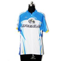Buy cheap Light Breathable Material Road Cycling Jersey UV Protect For Fitness Workout from wholesalers
