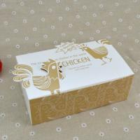 Buy cheap Logo Printed Popcorn Chicken Box , Disposable Paper Box For Fast Food product