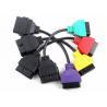 Fiatecuscan multiecuscan Fiat Ecu Scan Adaptors Four Color Car Diagnosis Device OBD Diagnostic Cable Set Manufactures
