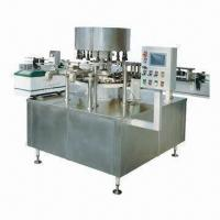 Automatic Rotary Bottle Labeling Machine with Glass, Plastic or Metal Material and Paper Label Manufactures