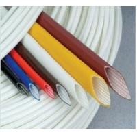 Buy cheap Extruded Silicone rubber fiberglass sleeving product