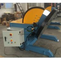 Buy cheap Heavy Duty Pipeline Rotary Welding Positioner  With Rotate Motor And Tilt Motor from wholesalers