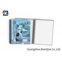 Wholesale Durable Custom Printed Notebooks , A4/A5/A6 3D Lenticular Cover CMYK Offset Printing from china suppliers