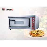 Buy cheap Single Layer Gas Commercial Pizza Oven Stone Base Timer Controller High Temperature from wholesalers