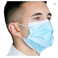 Wholesale 3 Layer Ply Nonwoven Dust-proof and Fog-proof Earloop Disposable Face Mouth Masks Fast Shipping from china suppliers