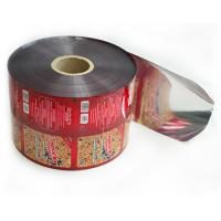 Buy cheap Non - Leakage Rollstock Film / Transparent Juice Liquid Packaging Film Roll from wholesalers
