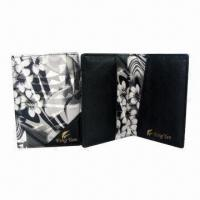 Wholesale Cartoon Leather Passport Wallets with Two Card Slots, Dimensions 9.8 x 13.8cm from china suppliers