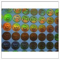 Buy cheap Anti-fake Hologram Sticker ,Holographic Label 3D Round Security Hologram Sticker ,Holographic Label 3D Laser  label product