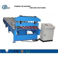 Metal Sheet Roofing Panel IBR Roll Forming Machine With 8-25m / min Speed