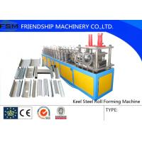 Buy cheap Z / C Shaped Purlin Roll Forming Machine , Bending Rolls for Mid-scale Construction from wholesalers