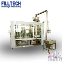 Buy cheap SUS304 Sliver 6000 bph mineral pure water filling packing machine for small pet bottle from wholesalers