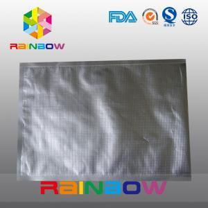 China Aluminum foil embossed bag / foil food vacuum texture packaging bags on sale