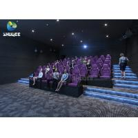 Quality 3 DOF Movement Mini Film 5D Cinema Simulator Indoor Games / 5D Amusement Park for sale