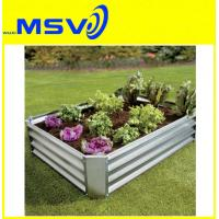 Buy cheap Galvanized Garden Planter Boxes from wholesalers