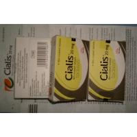 Wholesale Cialis Tablets 20mg Film Coated Tablets Tadalafil With 4 Tablets Per Box from china suppliers