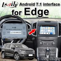Buy cheap Android 7.1 Auto Interface for Edge 2016-2019 support 3D panorama cameras , YouTube , mirrorlink smartphone from wholesalers