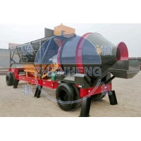 Buy cheap YHZM 500L Mobile Concrete Batching Plant With Drum / Twin Shaft Mixer from wholesalers