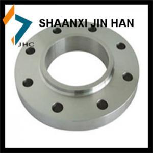 China gr2 titanium weld neck flange on sale