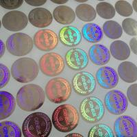 Buy cheap Custom design secure label packaging / shining 3D hologram label / adhesive hologram sticker from wholesalers