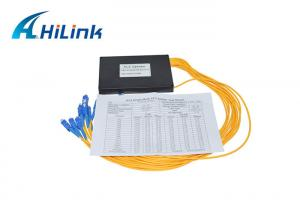 Wholesale CATV Network PLC Optical Splitter , 1X32 PLC Splitter Module With ABS Box from china suppliers