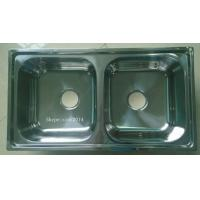 Wholesale modular kitchen stainless steel  sink with deep bowl 7843 cheap price from china suppliers