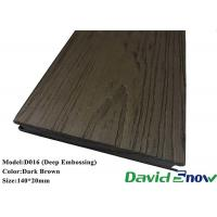 Buy cheap Free Samples WPC Decking Flooring Wood Grain WPC Plastic Composite Decking from wholesalers
