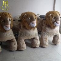 Wholesale Hansel ride on horse toys with springs moving horse toys for kids from china suppliers