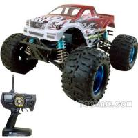 Buy cheap RC Gas Car - 1:8 Scale 28 Engine Powered 4WD Monster Truck (RCH58200) from wholesalers