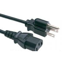 Buy cheap Argentina IRAM Power Cord IRAM 2073:1982 Argentina Plug with cable H05VV-F 3G0.75 from wholesalers