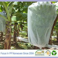 Wholesale Spunbond patterned nowovens fabric perforated banana bags from china suppliers