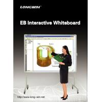 Electormagnetic Educational Multi Touch Smart Board for Classroom , Dual Touch Point Manufactures