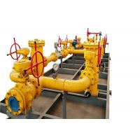 China High - Effeciency Natural Gas Equipment Gas Pressure Reducing And Metering Skid on sale