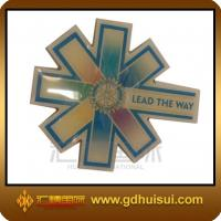 Buy cheap cheap custom brass wheel center cap badge from wholesalers