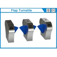 Buy cheap 304 Stainless Steel Flap Barrier Gate Turnstile Security For Ticket Checking from wholesalers