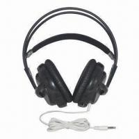 Buy cheap Big DJ Headphones with Good Sound, 3.5mm Plug Type, 2.2m Cord Length, Ear Pads Cover from wholesalers