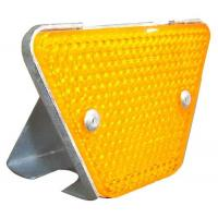 Buy cheap Reflective Roadside Highway Guardrail Trapezoidal Guardrail Reflector from wholesalers