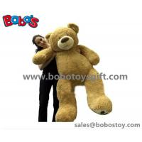 Buy cheap Big Plush Giant Teddy Bear 5 Foot Tall Tan Color Soft New Year Gift Bear Toys from wholesalers