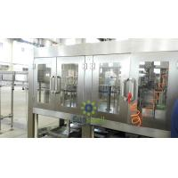 Plastic Bottles piston Filling Machine / Production Line for coffee Manufactures