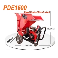 Buy cheap Mobile 15 HP Wood Chipper from wholesalers