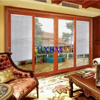 Buy cheap 3.0mm Aluminum Profile Aluminum Sliding Patio Doors With 6mm Tempered Clear Glass from wholesalers
