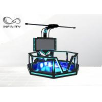 Wholesale 1000W 9D VR Walking Platform Interactive Virtual Reality Games VR Shooting Simulator from china suppliers